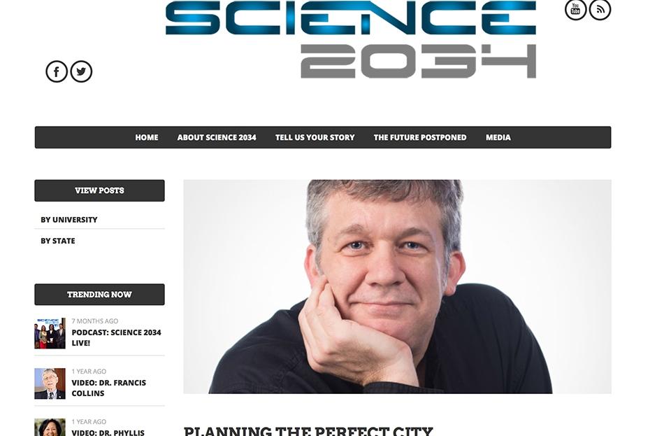 Science 2034 magazine