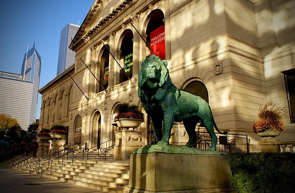 """Art Institute Morning"" (Chicago)"