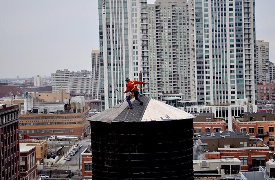 """Water Tower Repair Guy"" (Chicago)"